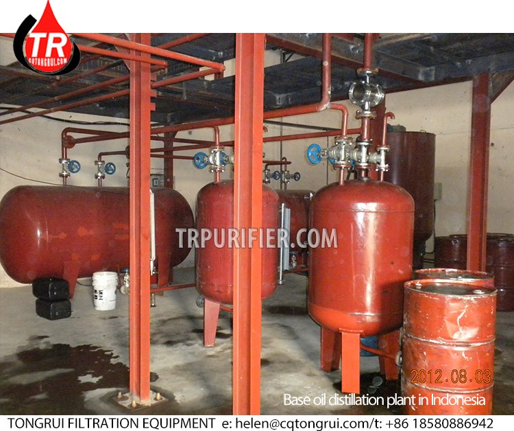 10t/d Used Black Oil Distillation Recycling Machines for Sale
