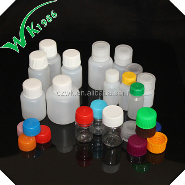 hot sell empty plastic reagent bottle manufacture