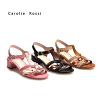 China wholesale sandals T strap peep toe flat low price sandals por mayor sandalias