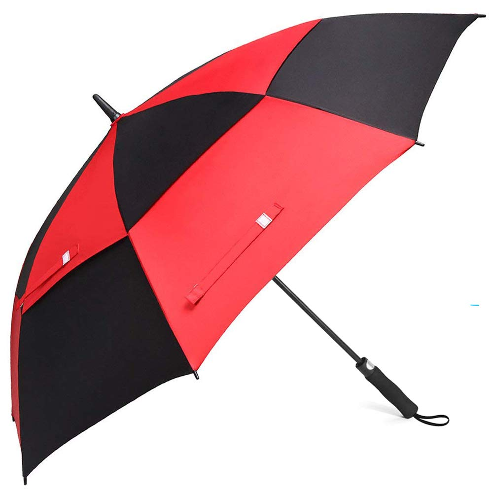 Customized Printing Large Size 60 Inch Double Canopy Golf Umbrella