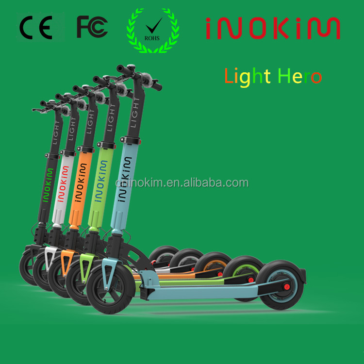 Best Selling Inokim Lithium battery power foldable mini electric scooter for adults