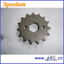SCL-2013010863 For HONDA 125 XL Steel Motorcycle Roller Chain Sprocket