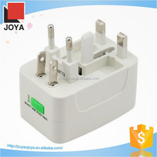 New international adaptor all in one power universal adaptor for travel with safety shutter