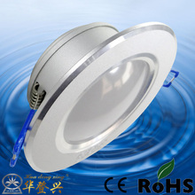 High Luminous Efficiency 5w halo led downlight