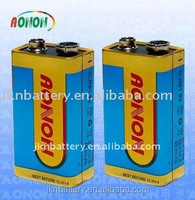 Alkaline 9V AAAA Dry Batteries 1pcs/shrink 6lr61 batteries Factory price
