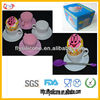 Cute Rainbow Mini Cup Cake Silicone Cup Cake Baking Tin Partical High Quality