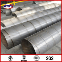 Spiral Welded Bridge Slotted Screen Pipe