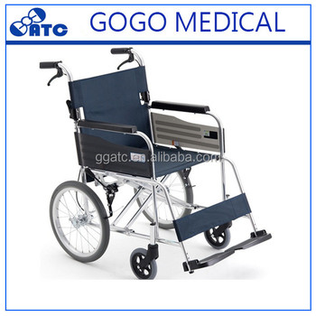 High quality foldable wheelchair for disabled people