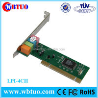 Shenzhen factory low price 4 channel CMI8738 mini pci sound card