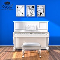 C23 white glossy piano with slowly soft close