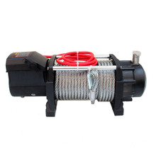cable winches 15000LBS fast line speed electric atv IP68 4x4 winch