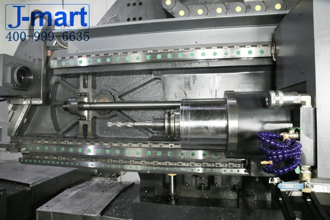 Seven-axis deep hole drilling and milling machine