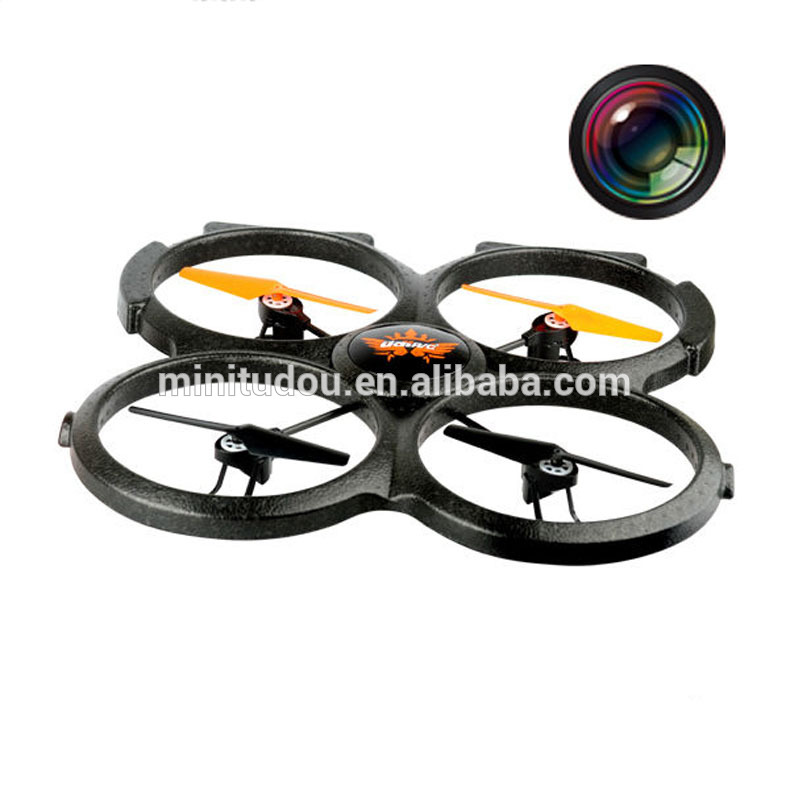 U829A 2.4Ghz Super 4 Channel 4 AXIS Black Foam UFO with camera
