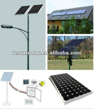 easy integrated solar street light with high quality and low price
