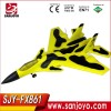 Electric hobby airplane 2 Channel rc sailplane Electric Model rc plane RC Gliders SJY-FX861