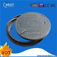 EN124 B125 round black low price latest shirt designs for men composite manhole cover