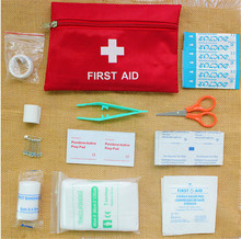 Portable Emergency First Aid Kit Pouch Bag Travel Sport Rescue Medical Treatment Outdoor Hunting Camping First Aid Kit