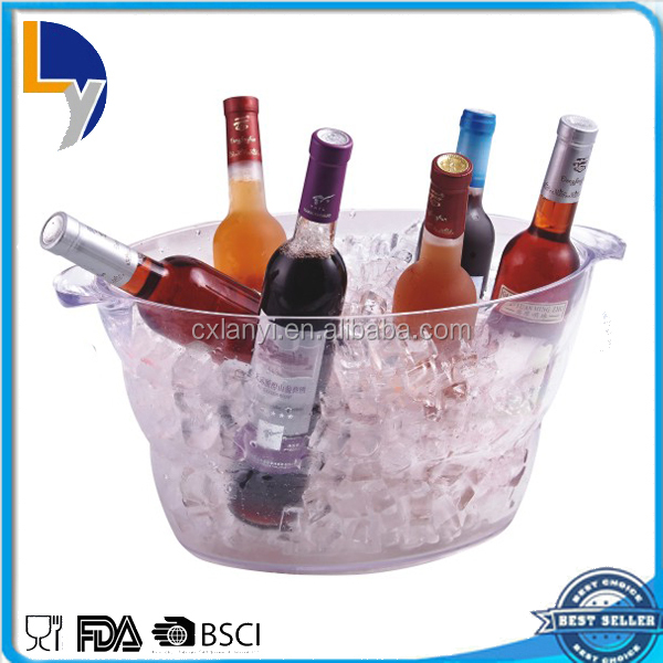 Made in China alibaba supplier new design factory sale custom plastic ice bucket