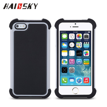 HAISSKY Wholesale Custom TPU PC silicon Mobile Phone Cases Covers For iphone 6/7/7PLUS samsung galaxy s7, note 7