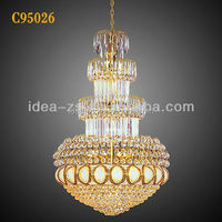 C95026 crystal faceted round beads for chandelier, hanging tea light candle holders, square crystal led ceiling light