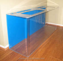 Factory free custom clear large acrylic fish tank