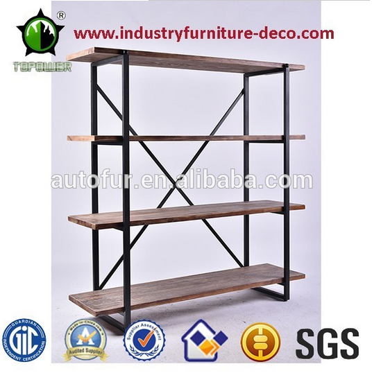hot selling wooden display shelf