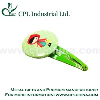 OEM custom design printing metal hair clip/ hair grip