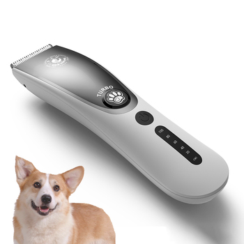 Professional Pet clipper Dog hair Trimmer pet Grooming kit haircut machine Cat Dog Hair Clipper LCD Display