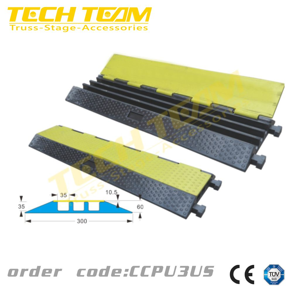 3 channel Cable Cross manufacturers Chinese , cable trunking cover 20T loading