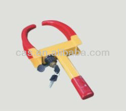 Anti-theft steering car wheel lock for motorcycle
