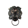 158006 Artificial Lion Head Wall Hanging