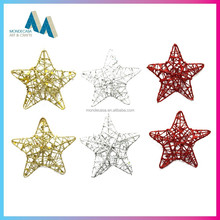 Innovative product star shaped christmas ornaments