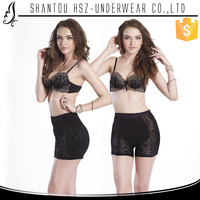 HSZ-8997 Hot sale female undergarments transparent undergarments women transparent lace ladies undergarments