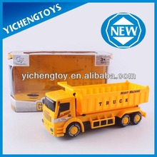 Plastic electric dump truck toy
