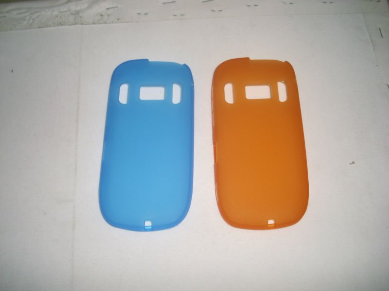 Matte TPU Gel Skin Case Cover for Nokia c7 back case