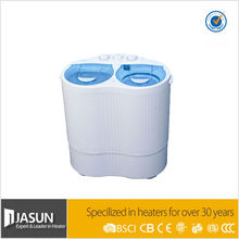 Hot sale 2KG Two Tube Semi-auto Washing Machine with 1.2KG Spin Dryer