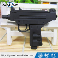 Submachine Gun USB Stick/USB 2.0 Flash Drives / Silicone Gun Shaped USB 3.0 Pen Drives 64gb 128gb
