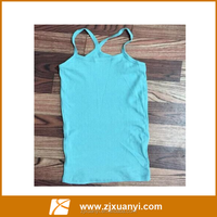 Beautiful OEM sexy hot girls seamless candy color camisole