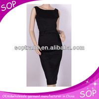 2014 new design ladies bodycon dress