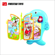 English And Spanish Language Learning Fun Musical Book Toy For Kids Educational