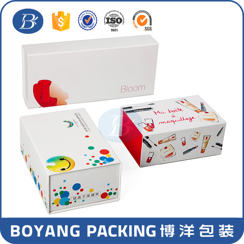 fashion hot sale factory direct manufacturer high end cosmetic wholesale paper mache boxes new arrival design