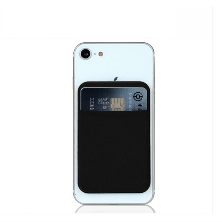 Professional <strong>Phone</strong> Card Holder Case Adhesive Lycra <strong>Mobile</strong> <strong>Phone</strong> Credit Card wallet Holder