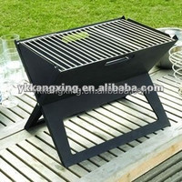 Notebook portable charcoal Grill for Folding