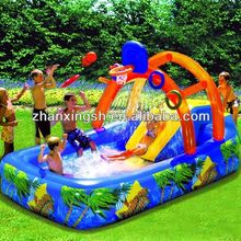 2014 shanghai zhanxing hot sale cheap popular pvc durable inflatable kids play ball pool for kids