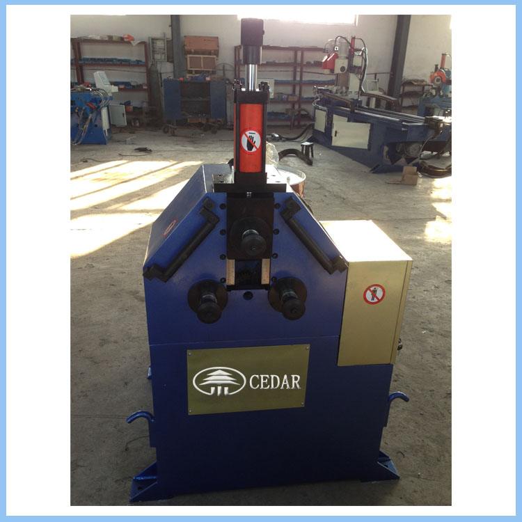 Mechanical hydraulic 3 rolers metal pipe bending machine for making circularity pipe