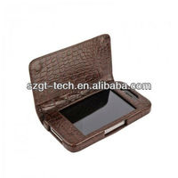 Cell phone case for Apple iPhone5 leather case crocodile pattern