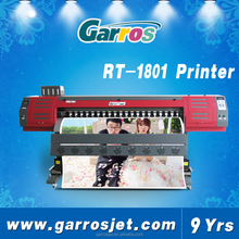 1.8m 3,2m digital printing machine for textile ,flag fabric banner digital printer with DX5/DX7 head
