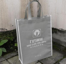 China made printed custom made tote shopping non woven bags