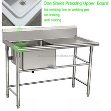 Various Design Pressing drainboard outdoor sink table