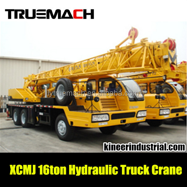 16Ton Hydraulic Truck Crane for XCMJ QY16D